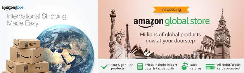 Just Launched: The Amazon Global Store | Visit the global store now